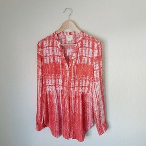 Maeve Orange Blouse Boho Style